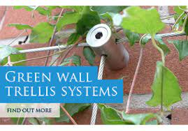 green wall wire trellis kits wire