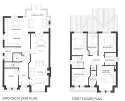Nice 5 Bedroom Beach House Floor Plan Five Bedroom House Plans Two Story Unique  Floor On Bold