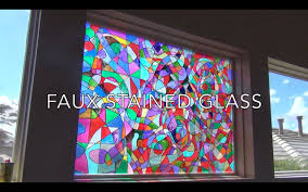 plastic stained glass sheets