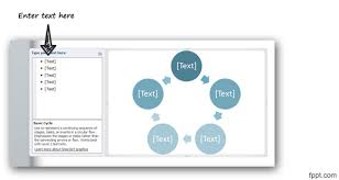 How To Create Flow Chart In Powerpoint Create A Circular Flow Diagram In Powerpoint 2010