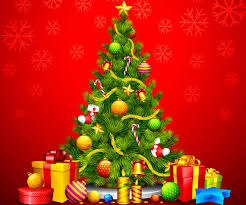 red and green christmas wallpaper.  Green Xmas Stuff For U003e Green Christmas Tree Background And Red Wallpaper I