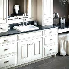 White bathroom cabinets with granite White Kashmir Granite Top Cabinet Black And White Bathroom Vanity Furniture Extraordinary Granite Top With Semi Recessed Rectangular Granite Top Cabinet Beface Granite Top Cabinet Granite Cabinet Tops Kitchens Bookbar