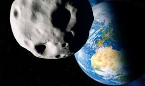 Image result for asteroid hitting earth