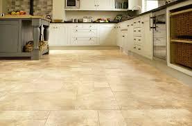 luxury vinyl flooring in the kitchen