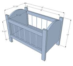 Building a Baby Cradle Ana White