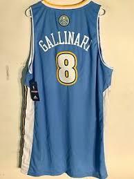 Nba Swingman Size Chart Details About Adidas Swingman Nba Jersey Denver Nuggets Danilo Gallinari Light Blue Sz Xl