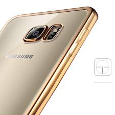 samsung galaxy s6 gold case. wholesale samsung galaxy s6 edge plus crystal electroplate hybrid soft case (rose gold) gold