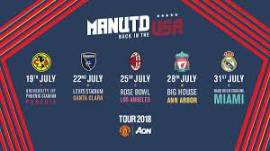 Ada yang bisa ga kira kira stop ditempat yang tepat? Jadwal Tur Pramusim Icc 2018 Manchester United Bolagp Sport