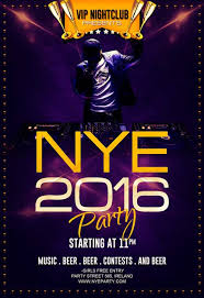 Freepsdflyer | Download Free New Year Eve Party Flyer Template