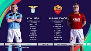 AS Roma 2000/2002 Stats and Gameplay PES 2021 - YouTube