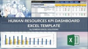 Kpi Chart Template Human Resources Hr Kpi Dashboard Excel Template