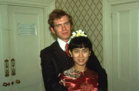 suka duka aung san suu kyi lagenda mitos sejarah peristiwa  new year s day 1972 chelsea registry office in london aung san suu kyi and michael aris marry aged 26 and 25 respectively
