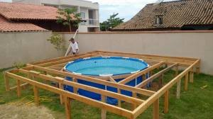 Die treppen von vario pool system (vps) werden direkt in den beckenkörper eingeformt. Er Hat Einen Super Trick Sich Seinen Eigenen Im Boden Eingelassenen Pool Zu Bauen Einfach Genial