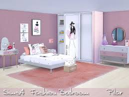 best modern bedroom furniture. modern bedroom with a touch of blush found in tsr category u0027sims 4 adult best furniture