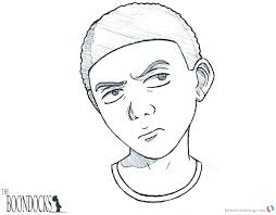 the boondocks coloring pages boondocks coloring pages boondocks color pages