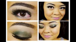 2016 pantone color of the year emerald makeup tutorial l oreal eye shadows villabeautifful