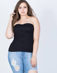 plus size tube tops plus size summer tube top 2020ave