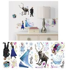 winsome inspiration frozen wall decor disney decals wall2wall decorating kit target canada south africa ideas