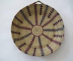 woven wall basket berber bread basket