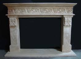 french country fireplace mantels in los angeles