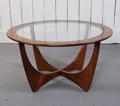 vintage round wood coffee table awesome retro teak g plan astro coffee table vintage danish style
