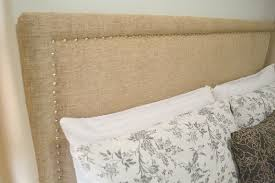 excellent design ideas making fabric headboard honey sweet home sprucing a guest room with diy upholstered