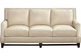 beige leather sofa. Fancy Beige Leather Sofa With Shop For A Sofia Vergara Bal Harbour At