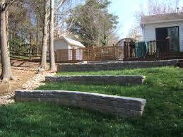 backyard retaining wall designs. Landscape Retaining Wall Design Backyard Designs L