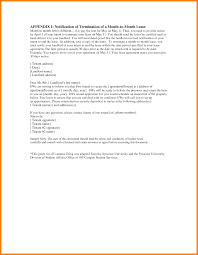 termination letter for rental contract 0
