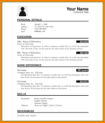 Resume Format Download In Ms Word 5 Cv Format Ms Word File Theorynpractice