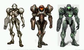 Metroid Light Suit Artstation Samus Life Suit Metroid Prime 2 Fan Art J Max
