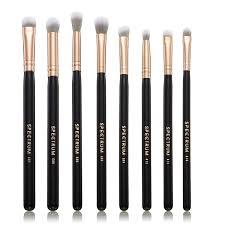 spectrum makeup brushes marble. 8 piece eye set spectrum makeup brushes marble