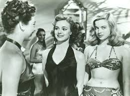Fifties   Diana Dors (right) and Pauline Stroud in Lady Godiva ...
