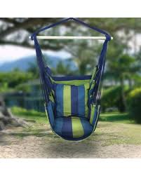 BIG Deal on Hanging Rope Chair Porch Swing Seat Multi Patio