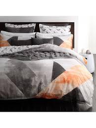 neo orange quilt cover set