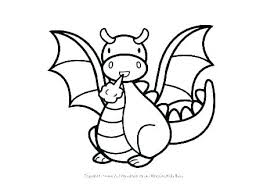 Fire Breathing Dragons Coloring Pages 123bakingclub