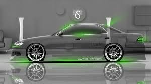 toyota mark 2 jzx0 jdm crystal nature car