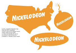 Nickelodeon Logo (1984–2005) - Fonts In Use