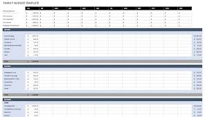 Home Budget Spreadsheet Free Downloadable Templates Planner Excel