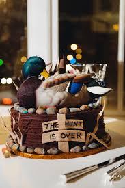 Grooms Cake Hunting Grooms Cake