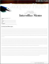 Inter Interoffice Envelope Template Office Letter Memo Word