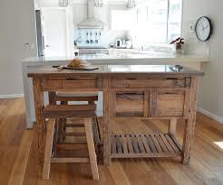 rustic kitchen island furniture. united house furniture - rustic timber kitchen island bench with stools 2