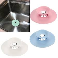 sink strainer hair trap shower bath basin plug hole drain cover kitchen catcher 1 of 6free