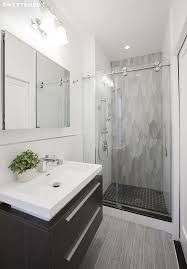 condo bathroom remodel. Fine Condo East Village Bath Features Italian Ceramic Floor Tiles Rippled Gray Wall  Frameless Glass Shower Door With Chrome Finishes And Wallmounted Sink  With Condo Bathroom Remodel O