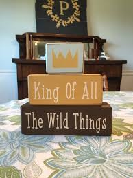 children s king of all the wild things where the wild things are nursery decor children s
