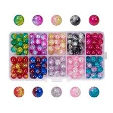 Lampwork <b>crackle Glass</b> Beads | Beebeecraft.com
