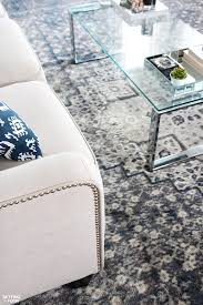 just adding an area rug to a room will give it a whole new look