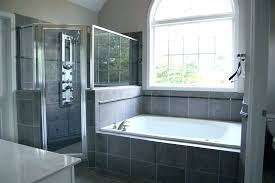 walk in shower with tub combo home depot outstanding one piece