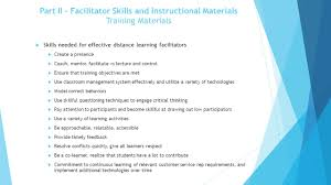 facilitator training program synchronous day model for corporate 9 part ii facilitator skills