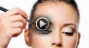 beginners eye makeup video tips tutorial